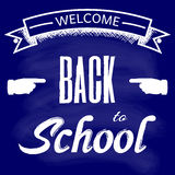 Welcome to school, back to school Royalty Free Stock Images