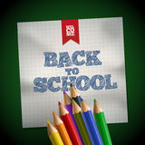 Welcome to School Royalty Free Stock Photo
