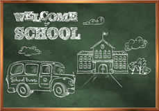 Welcome to school. Stock Images