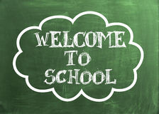 Welcome to School Stock Photo