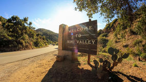Welcome to Simi Valley Royalty Free Stock Image