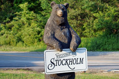 Welcome to Stockholm, NJ Stock Photos