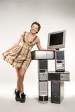 Welcome to techno world Stock Photos