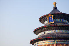 Welcome to Temple of Heaven Royalty Free Stock Images
