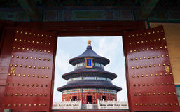 Welcome to Temple of Heaven Royalty Free Stock Photo