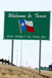 Welcome to Texas  sign Stock Photos