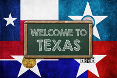 Welcome to Texas Royalty Free Stock Photography