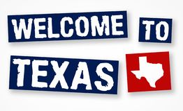 Welcome to Texas royalty free stock photo