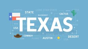 Welcome to Texas. Visit north american culture Stock Photo