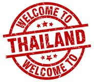 Free Welcome To Thailand Stamp Stock Images - 122609834