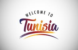 Welcome to Tunisia royalty free stock photography