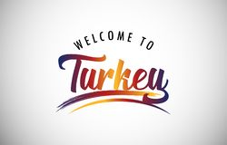 Welcome to Turkey royalty free stock photos