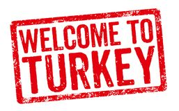 Welcome to Turkey Royalty Free Stock Image