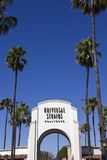 Welcome to Universal Studios, Los Angeles Royalty Free Stock Image