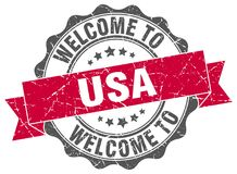 Welcome to usa seal Stock Images