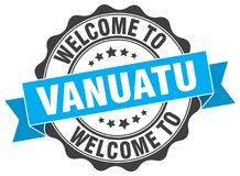 Welcome to Vanuatu seal Royalty Free Stock Photography