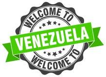 Welcome to Venezuela seal Royalty Free Stock Photos