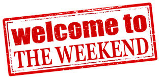 Welcome to the weekend Royalty Free Stock Photo