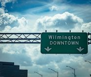 Welcome to Wilmington, NC Stock Photo