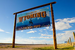 Welcome to Wyoming - Forever West Stock Photography