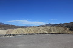 Welcome to Zabriskie point Royalty Free Stock Photography