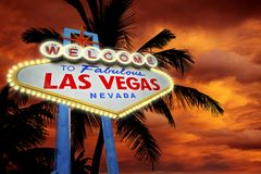 Welcome in Vegas Royalty Free Stock Images