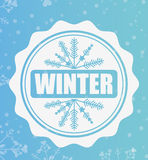 Welcome winter design Royalty Free Stock Photography