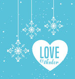 Welcome winter design Stock Photos