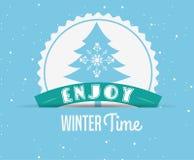 Welcome winter design Stock Photos