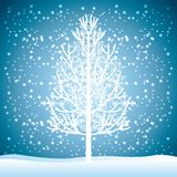 Welcome winter design Stock Photography