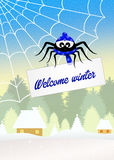 Welcome winter Royalty Free Stock Images