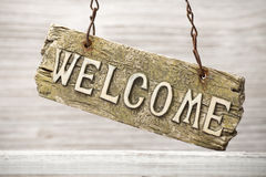 Welcome. Stock Photo