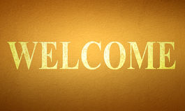 Welcome Royalty Free Stock Images