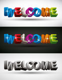 Welcome. Royalty Free Stock Photos