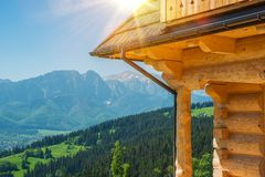 Welcome in Zakopane Royalty Free Stock Photo
