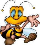 Welcomer wasp vector illustration