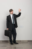 Welcoming businessman Royalty Free Stock Photos