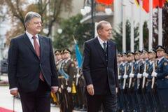 Welcoming ceremony of Turkish President Recep Tayyip Erdogan in Royalty Free Stock Image