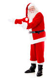 Welcoming Santa Claus Royalty Free Stock Photos