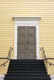 Welcoming Scandinavian Door Stock Photo