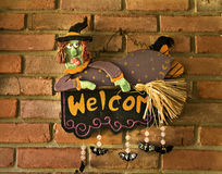 Welcoming Witch Stock Images