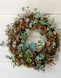 Welcoming wreath Stock Photography