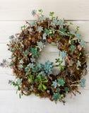 Welcoming wreath Stock Photography