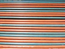 Weld hose background Royalty Free Stock Photos