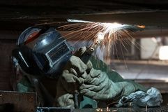 Weld look Stock Photography