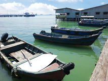 The Weld Quay Settlement Penang Stock Image
