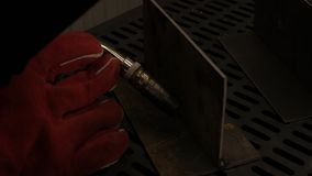 Welde lub blacksmith zdjęcie wideo