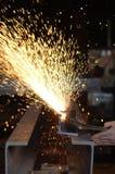 Welder на работе Стоковое Изображение RF