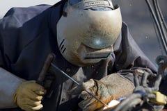 welder трубопровода стоковые фотографии rf