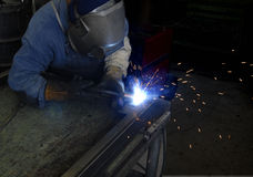 Welder Royalty Free Stock Photos